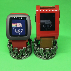 pebble smartwatch animation
