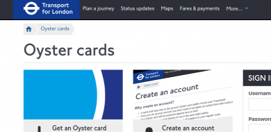 oyster card refund