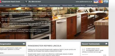 rangemaster cooker service