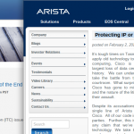 cisco arista court case