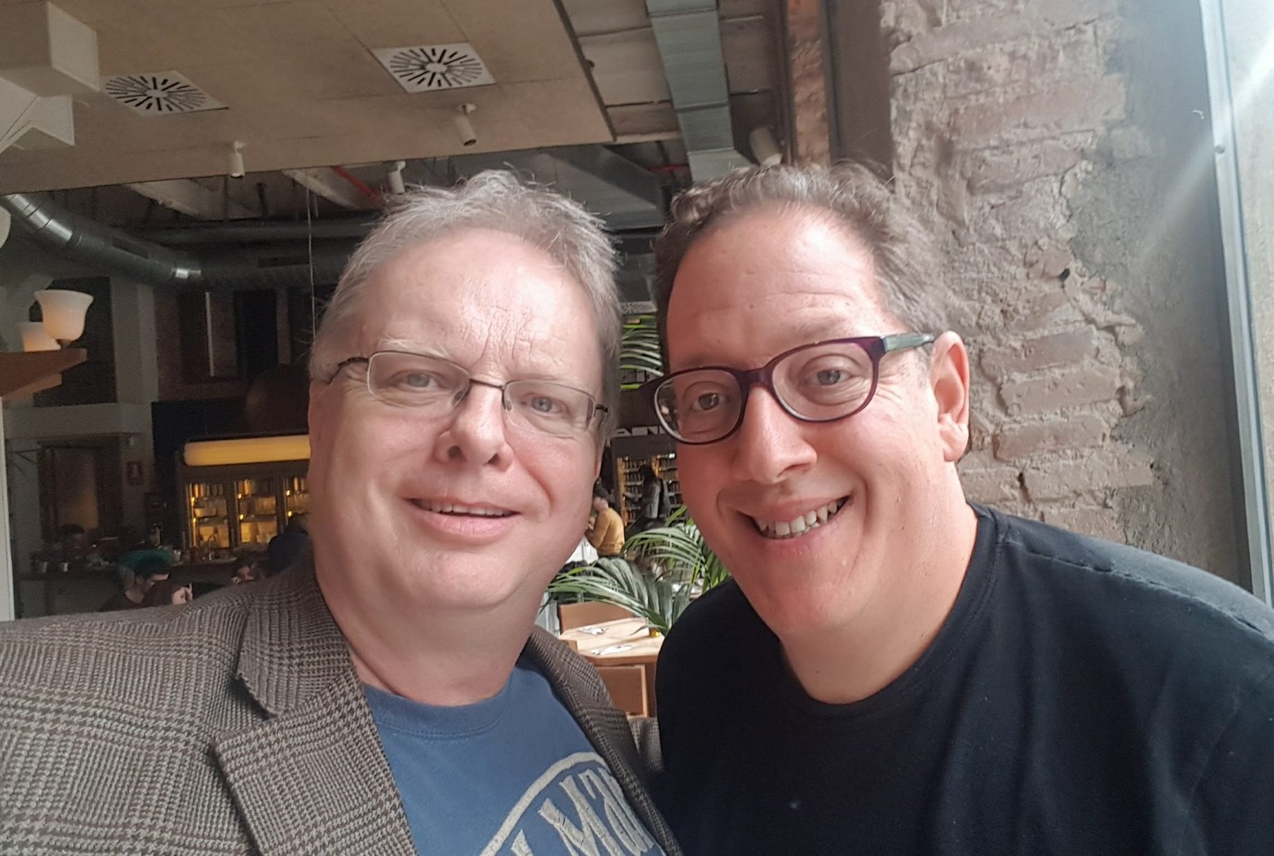 dinner with jeff pulver