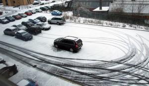 Timico car park this morning