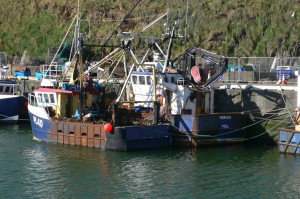 Peel Harbour - traditionally home of the herring fleet