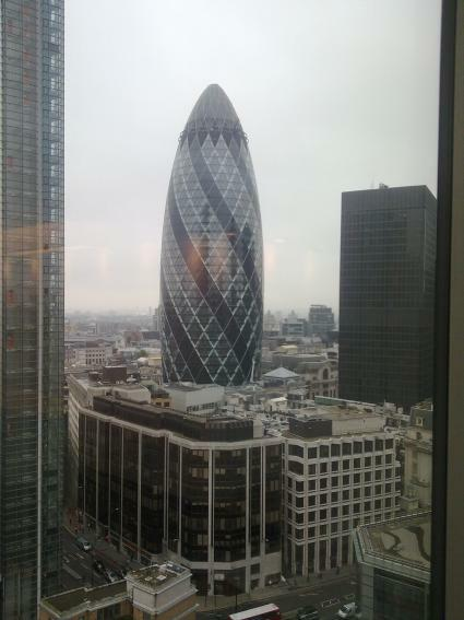have a cigar - view from the Polycom offices on 16th floor