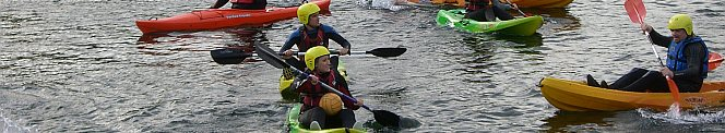 Timico Kayaking polo team captain Gemma Jankiewicz carries the ball
