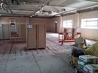 first floor engineering offices in new Timico Data center