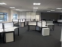 development engineering area at the new Timico data centre in Newark