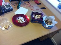 entries for the Timico mince pie competition