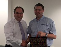Michael Goodinson - builder of the best NOC display in the business