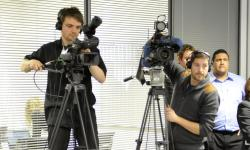 TV cameras roll at opening of Timico datacentre in Newark