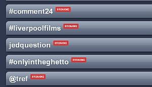 @tref & #comment24 trending in the UK