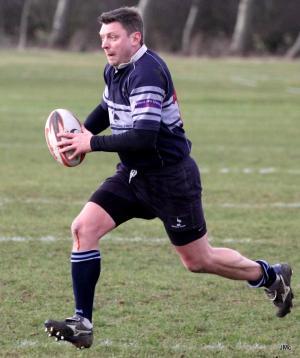 Steve Hodges flies solo