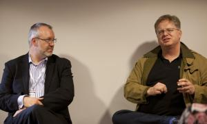 Jon Grubb with Trefor Davies at #LUL360