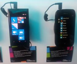 a couple of Nokia Lumia handsets
