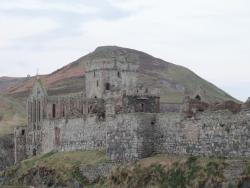alternative view of peel castle