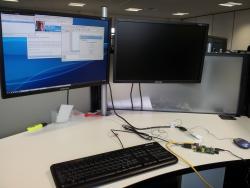 Raspberry Pi desktop setup
