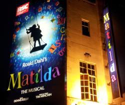 Matilda the Musical - v colourful I thought