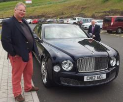 Bentley Mulsanne - you should try one :)