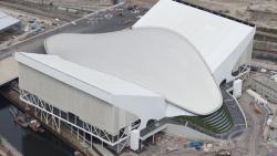 Olympic Aquatic Centre - photo courtesy of London2012.com