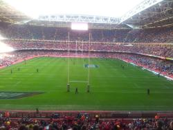 Millenium Stadium Cardiff home to the winners of the 2012 Grand Slam