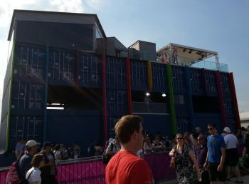BBC studio at Olympic Park
