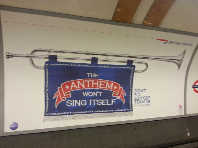 great advert by BA during the Olympics in London