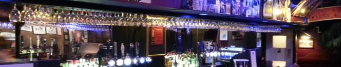 Bar at London's Phoenix Artist Club