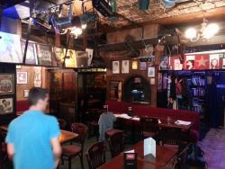 The bar area at the Phoenix Artist Club