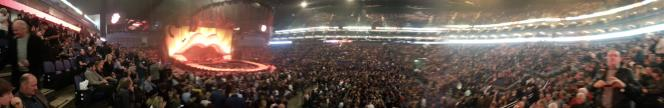 Inside the O2 for the Rolling Stones Concert 25/11/12