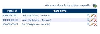 ipcortex on raspberrypi screenshot