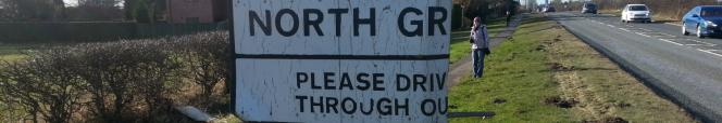 Drive Carefully Sign at North Greetwell