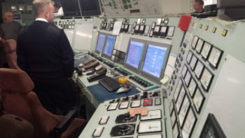 icebreaker engine control room