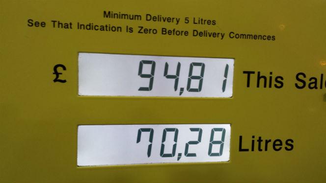 70.38 litres of diesel