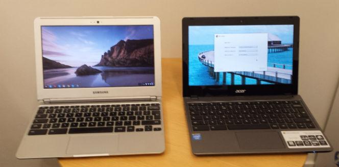 Acer C720 Samsung chromebook comparison