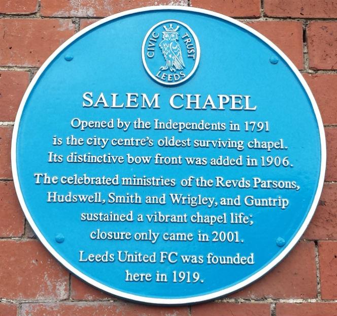 Salem chapel Leeds