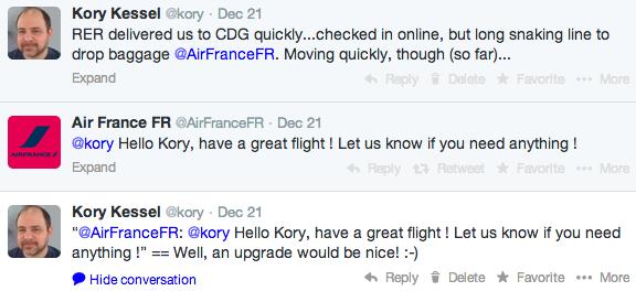 Third Tweet to AF