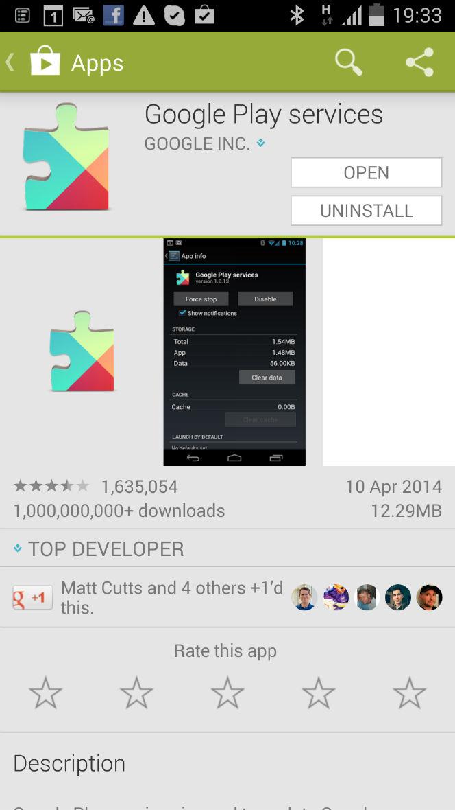 google play downloads