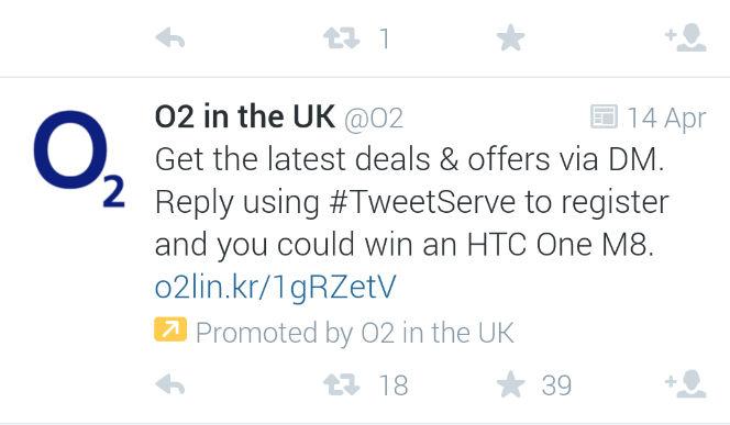 o2 tweet