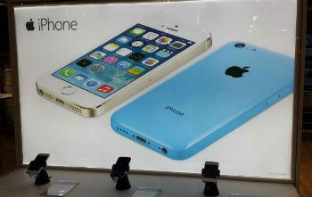 iphone display at tesco