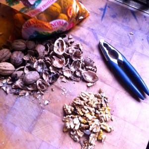 2. Gotta crack a few walnuts.