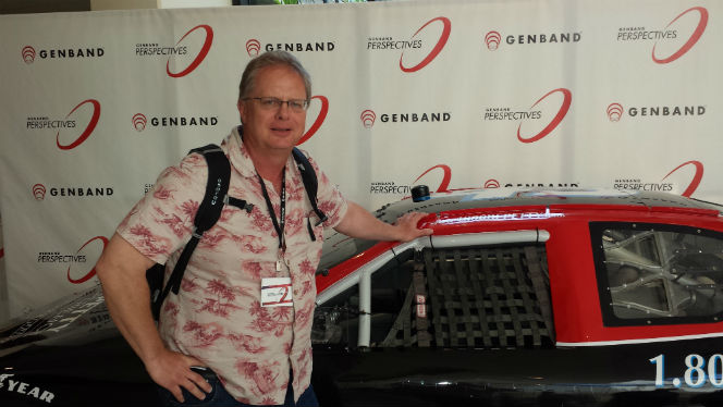 genband sponsored car aat the #GBP14 conference