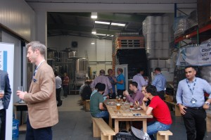 pissup in a brewery