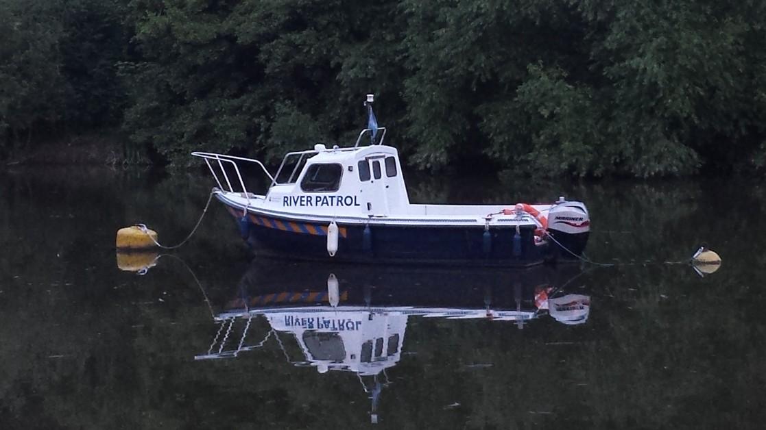 River Patrol boat in Chester