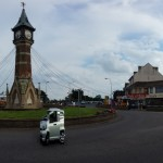 clock tower & chippy Skegness