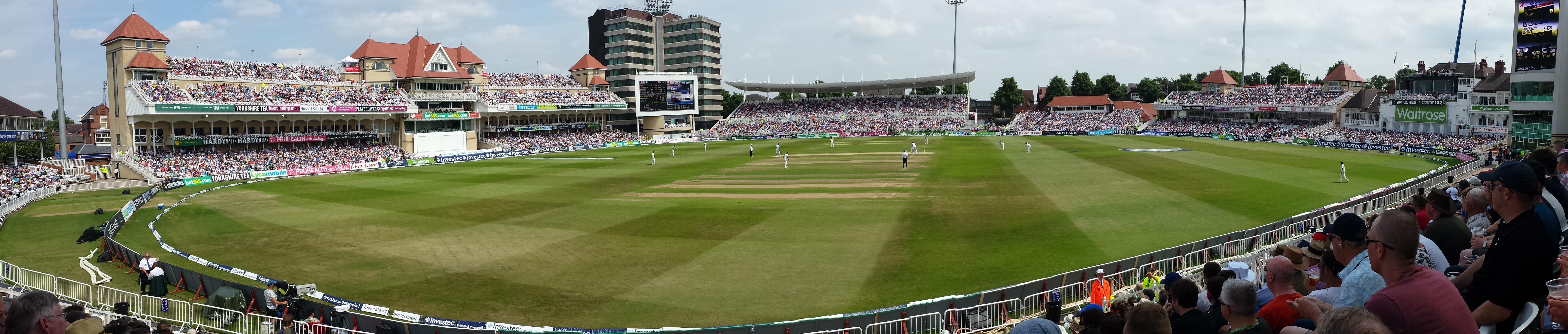 Trent Bridge cricket ground England v India