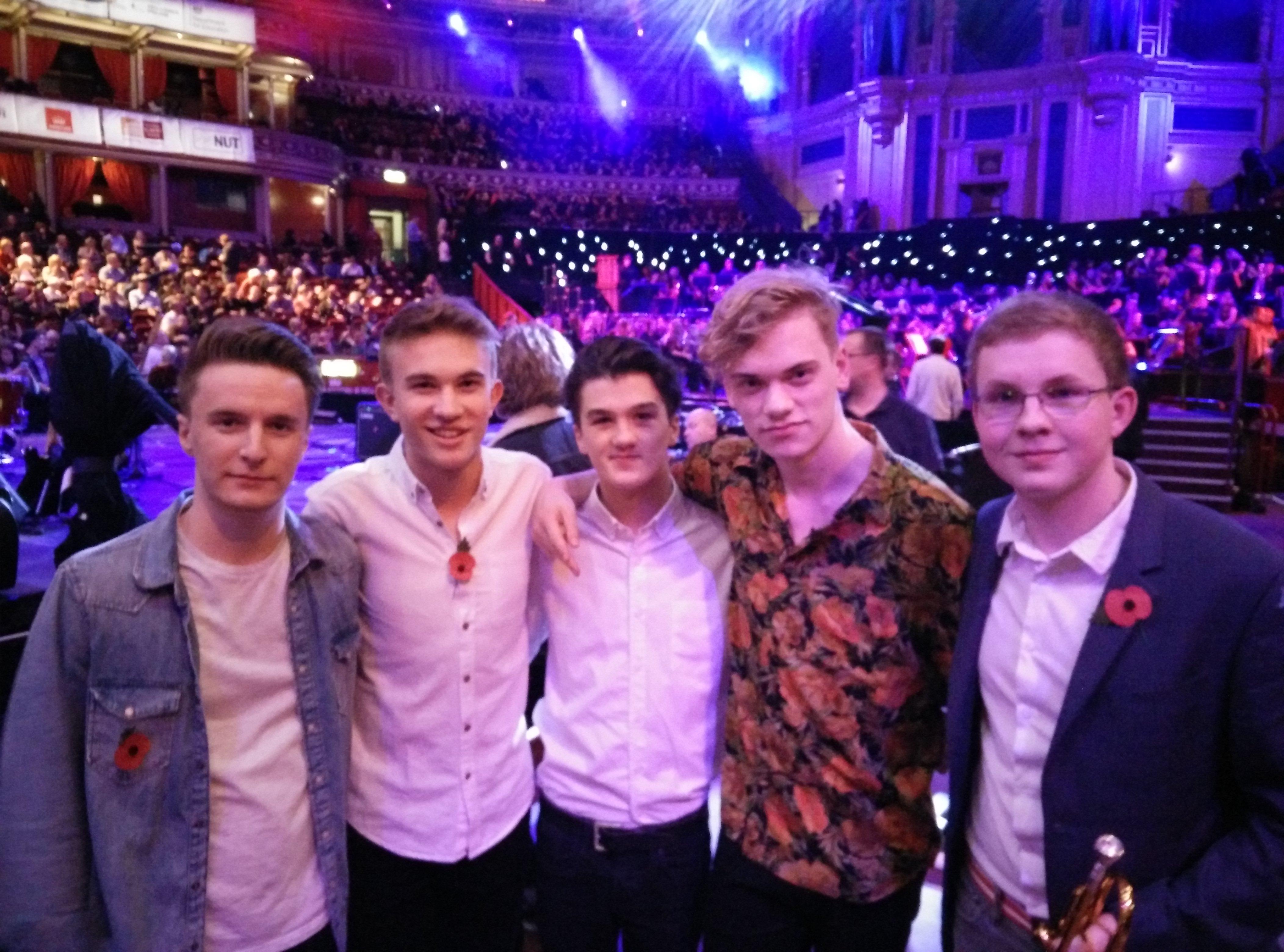 The Pylons at the Royal Albert Hall