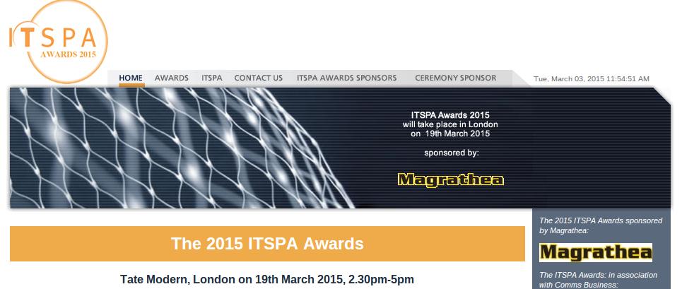 itspa awards 2015