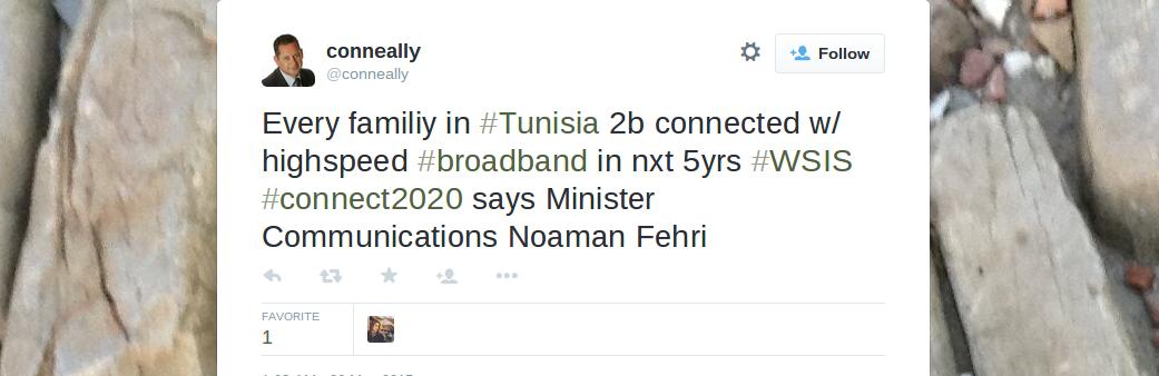 tunisia broadband
