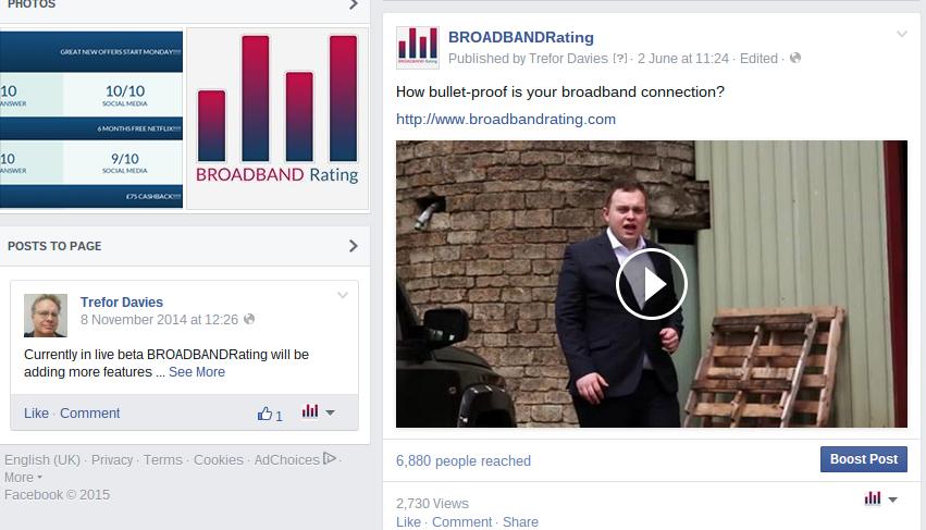facebook versus youtube