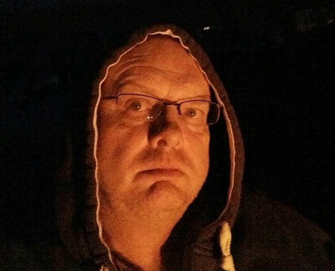 trefor davies by campfire light